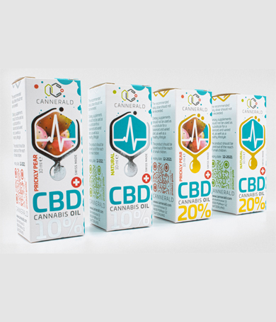 Cannerald / CannerGrow - CBD Cannabis Oil